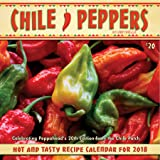 Chile Peppers 2018 Wall Calendar