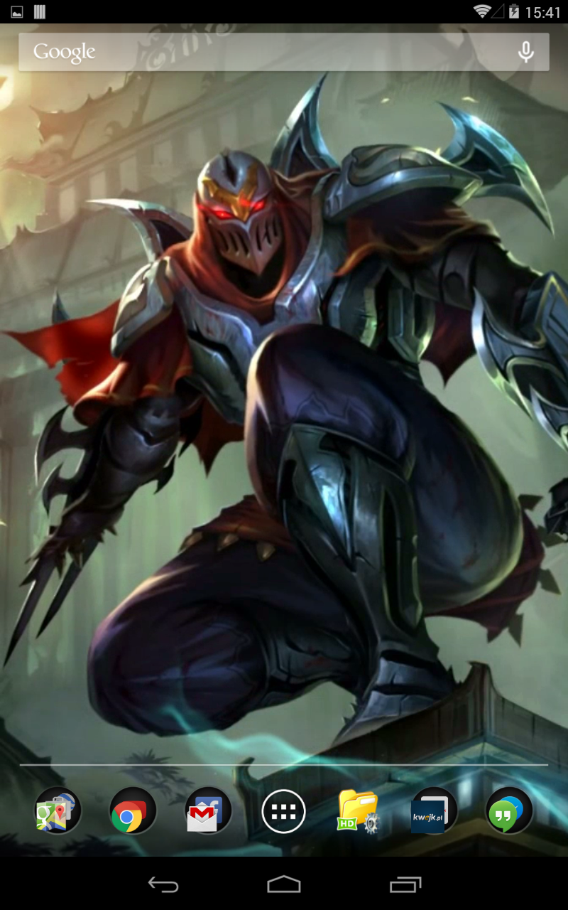 Amazon Com Zed League Of Legends Live Wallpaper Appstore For Android