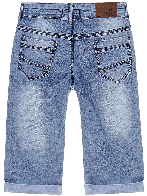 BEZLIT Jungen Jeans Shorts Totenkopf 22681