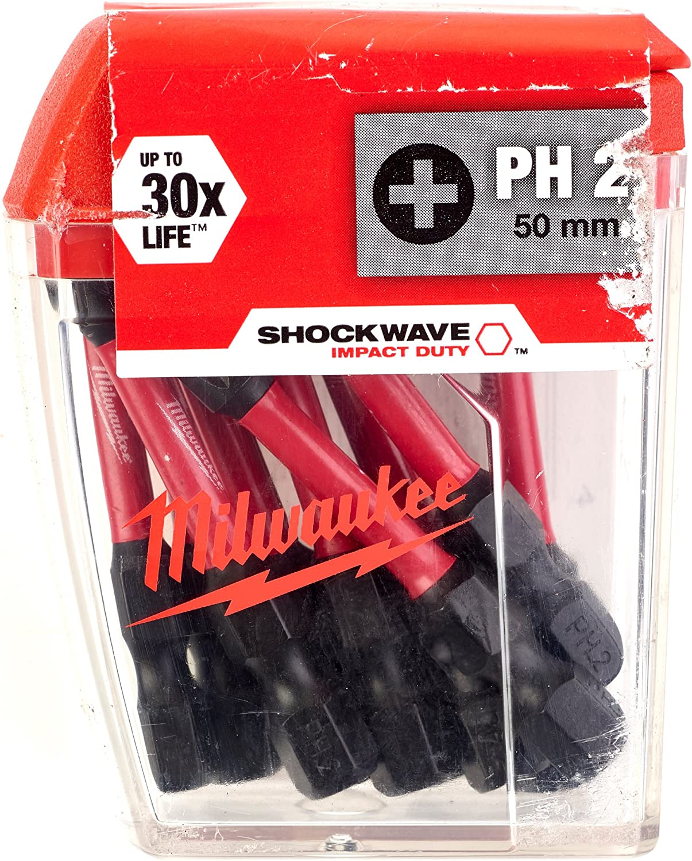 Milwaukee 4932430877 10 x 50mm Shockwave TX20 bits