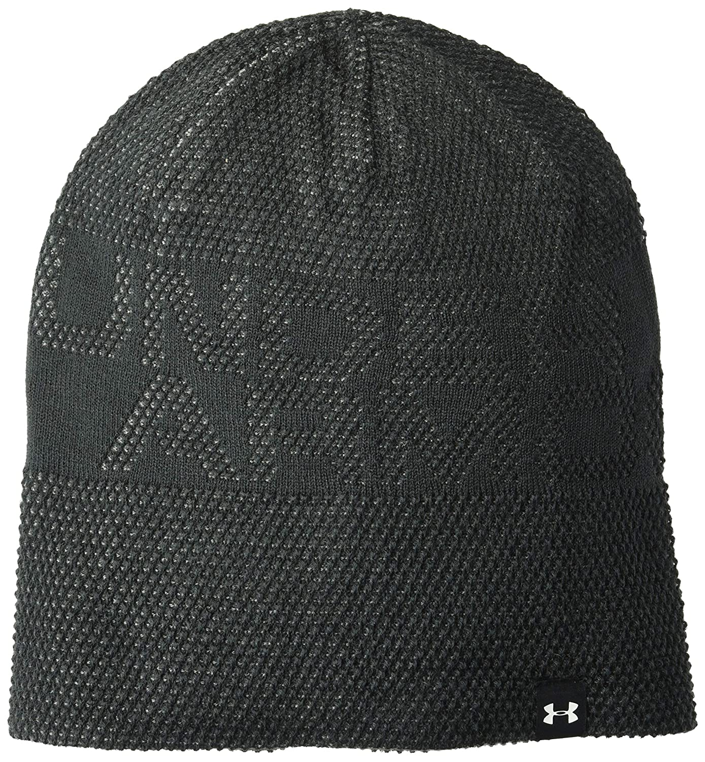 Under Armour Boys Reversible Beanie upd, Black (001)/White, One Size Under Armour Accessories 1318593