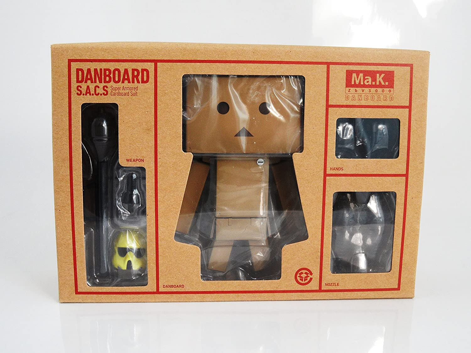 Danboard S.A.C.S sdcc san diego comic con 2014 Ma.K star wars exclusive armored suit Yellow Yotsuba