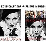 Madonna Calendar 2019 + Madonna Refrigerator Magnet