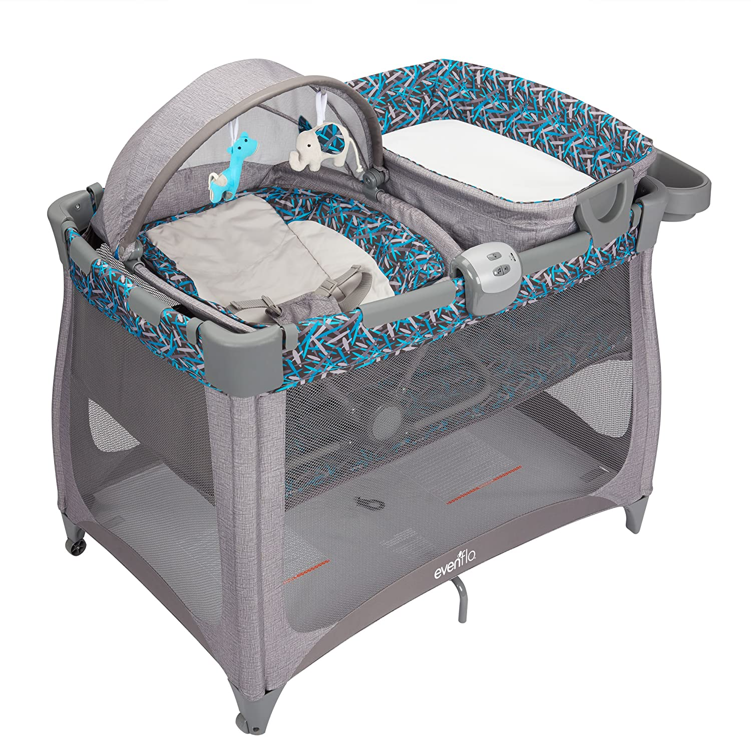Evenflo Arena 4-in-1 Playard, Dash 70812110
