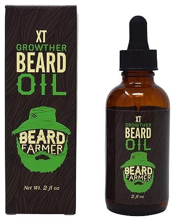 Beard Farmer Growther Oil Grow Your Fast All Natural Growth