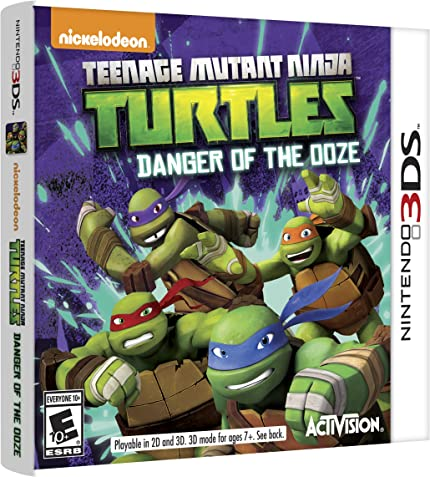 Amazon.com: Teenage Mutant Ninja Turtles: Danger of the OOZE ...