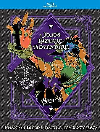 Amazon com: JoJo's Bizarre Adventure Set 1: Phantom Blood