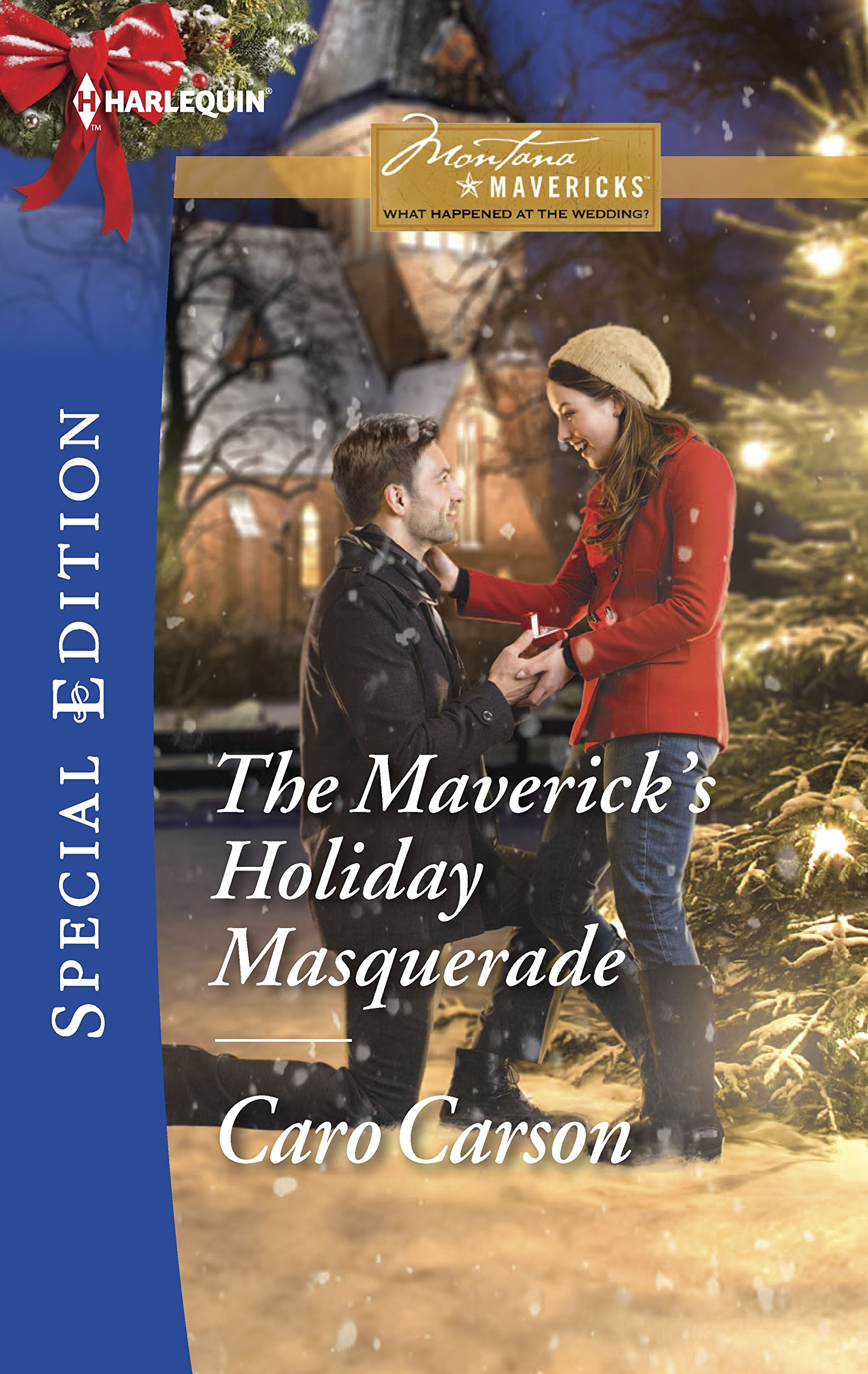 The Maverick's Holiday Masquerade (Montana Mavericks: What Happened at the Weddi) PDF