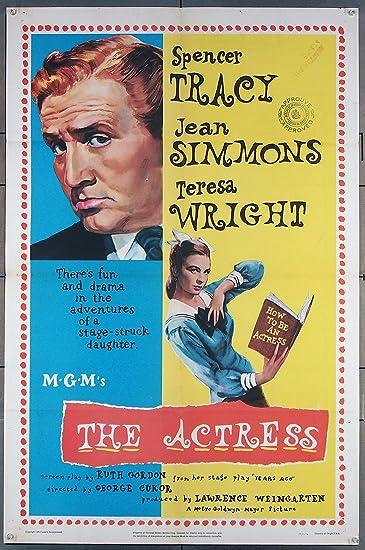 Spencer Tracy Movie Star Portrait Poster