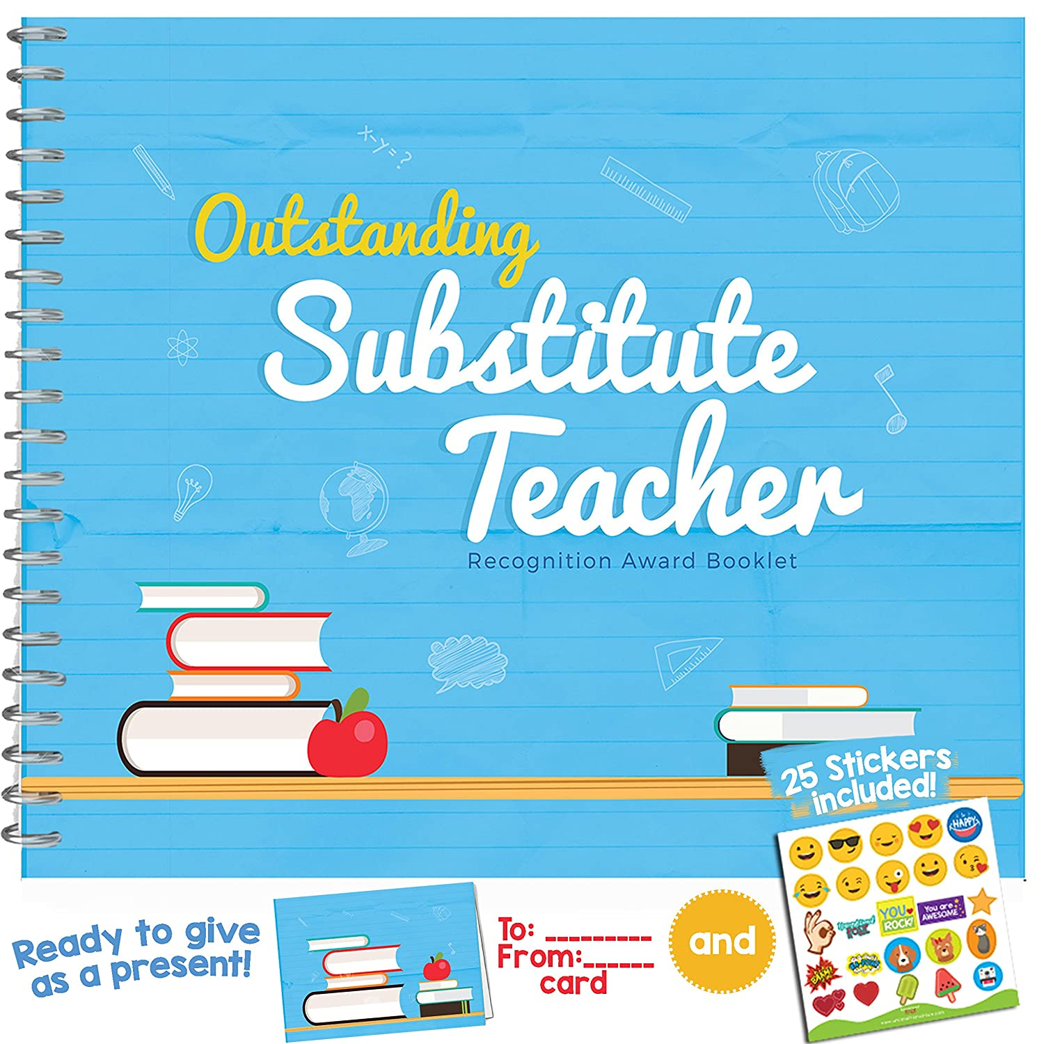 substitute teacher ts recognition award for the