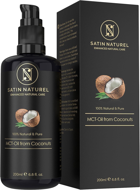 Aceite de Coco MCT Puro y Natural 200 ml / Triglicéridos de Ácidos ...