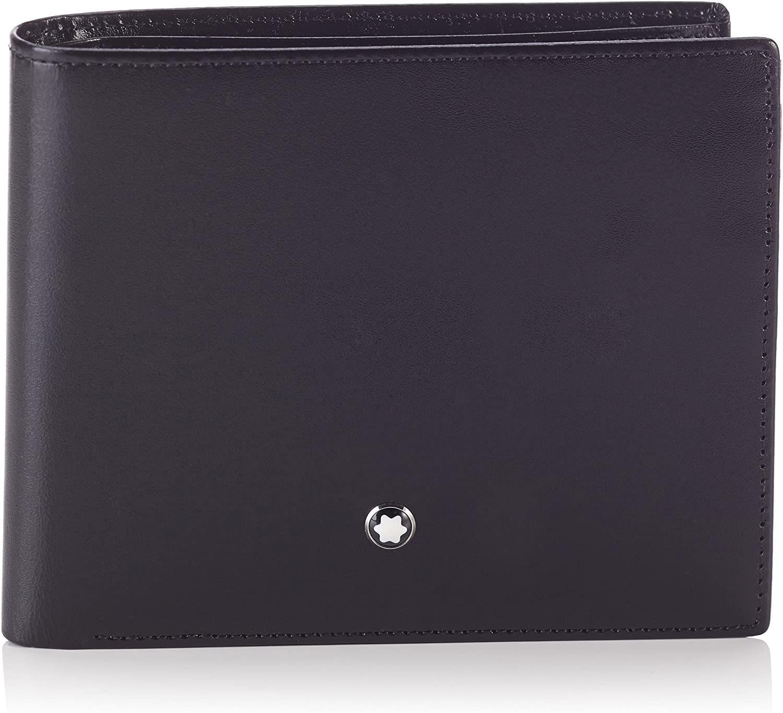 Montblanc Men's Credit Card Case, Black (Schwarz), 12 centimeters