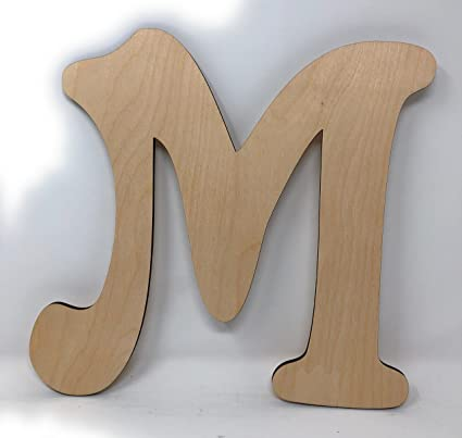 gocutouts 12 wooden letter m unfinished 14 wooden letters paint ready unfinished