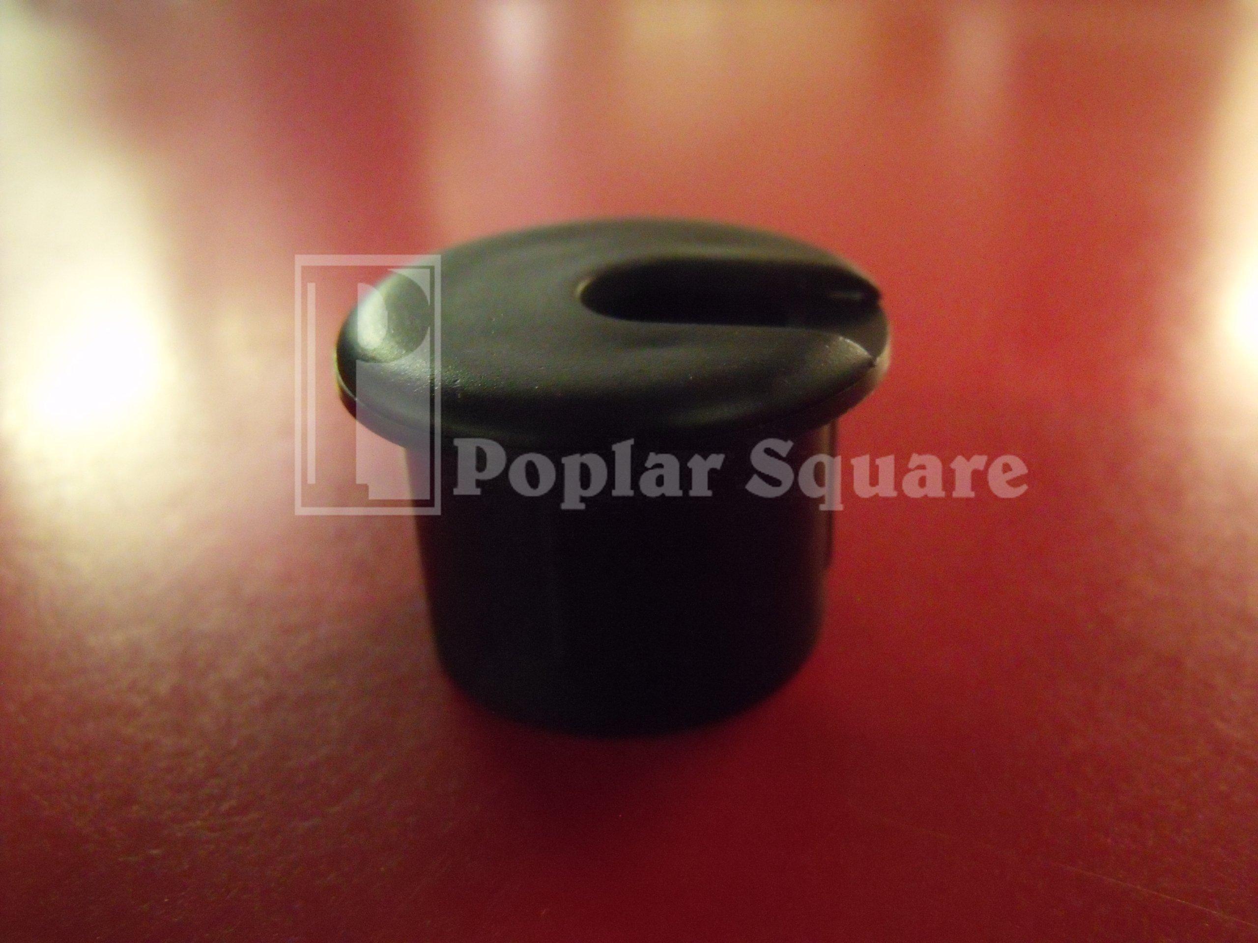Cord Grommet Black 1'' 25/box #1041BK