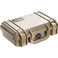 Pelican Products 1170-000-190 Small Case with Foam (Desert Tan)