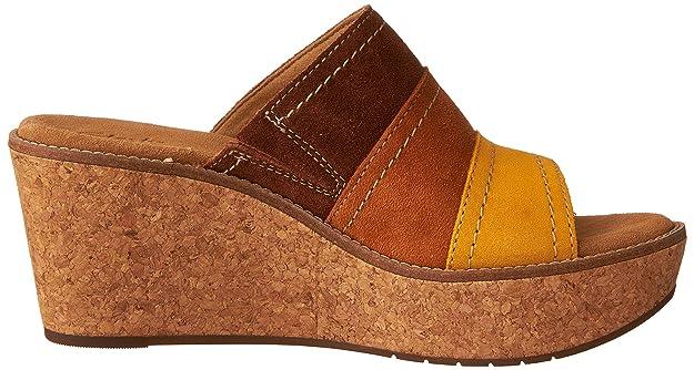 e20eeca95eaff Amazon.com   Clarks Women's Aisley Lily Wedge Sandal   Shoes
