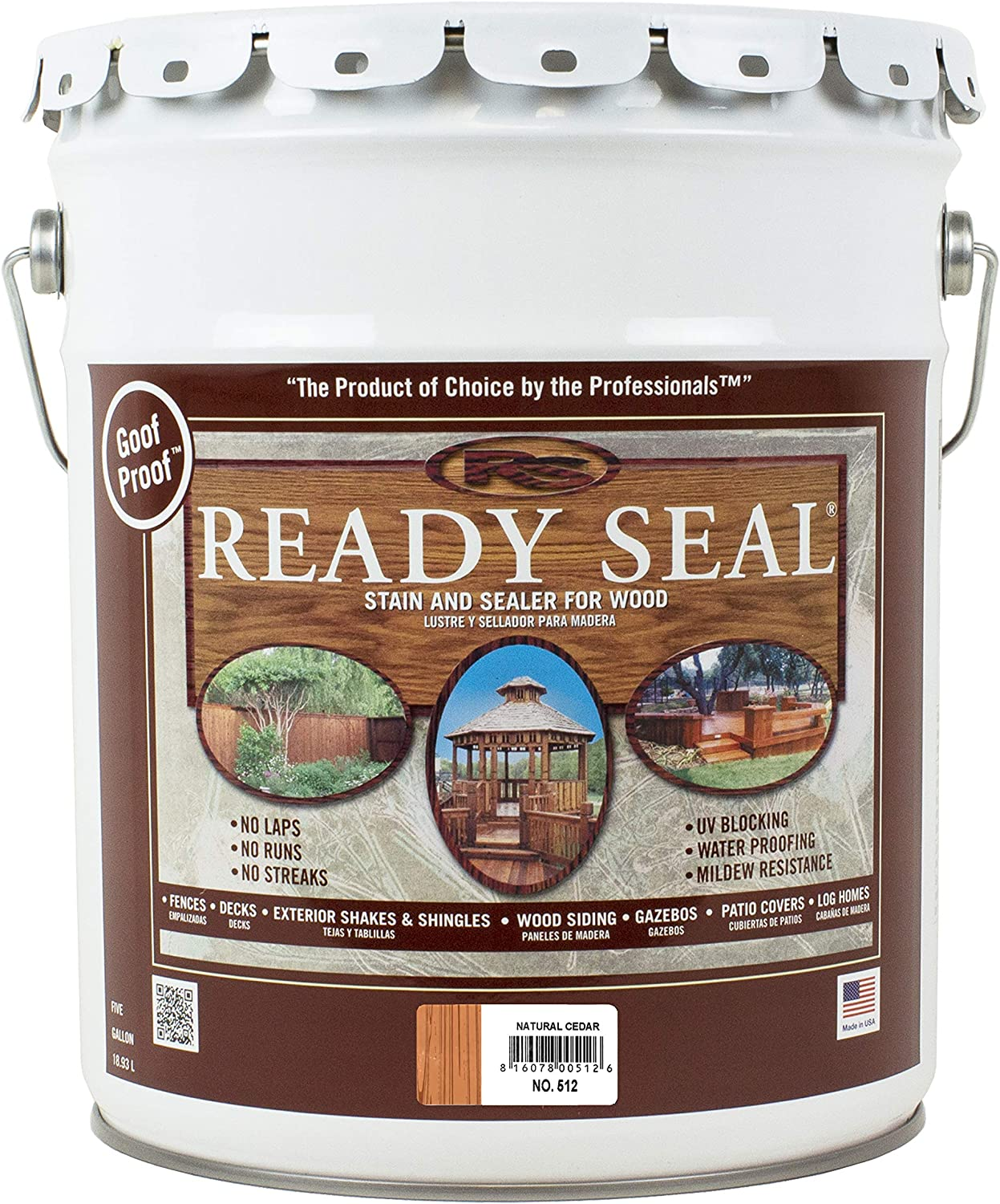 Ready Seal deck paint