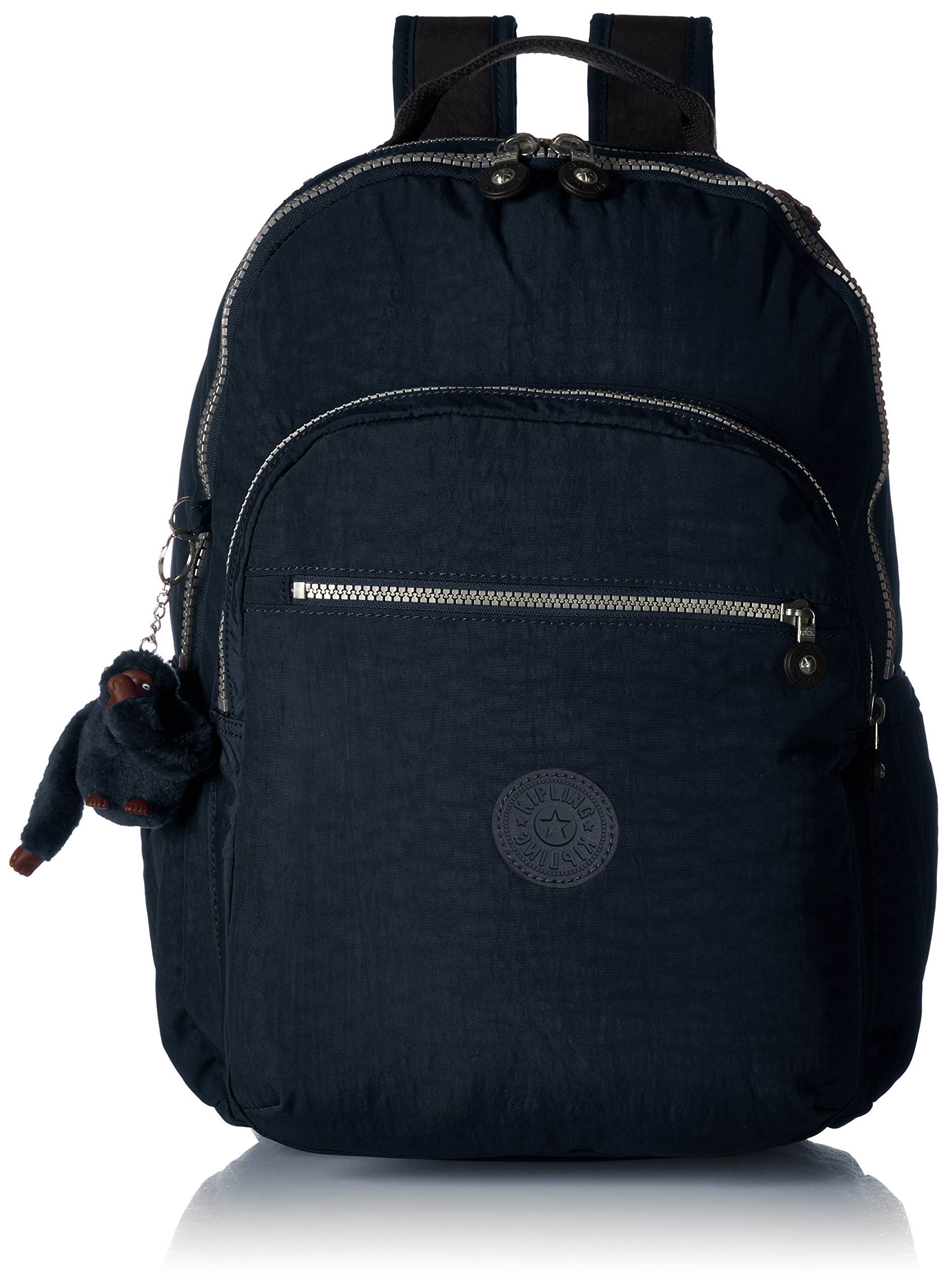 Kipling Seoul Go Laptop, Padded, Adjustable Backpack Straps, Zip Closure, True Blue