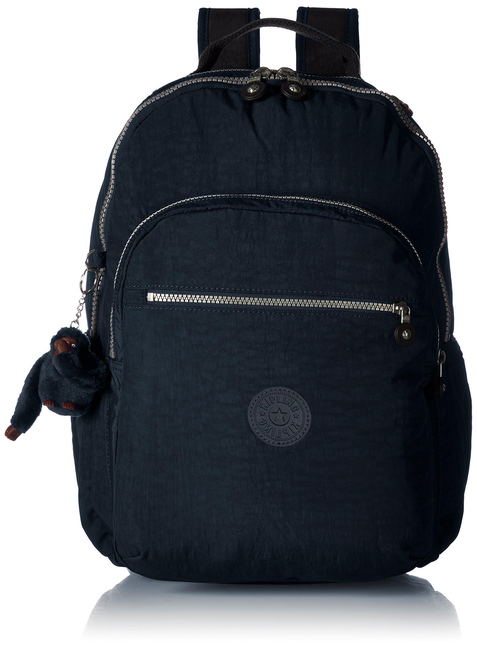 Kipling Seoul Go Laptop, Padded, Adjustable Backpack Straps, Zip Closure, True Blue by Kipling (Image #1)