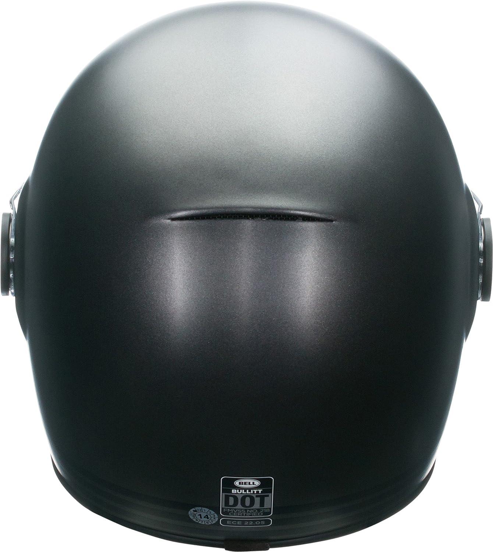 Amazon Bell Retro Full Face Motorcycle Helmet Matte Metallic Titanium Medium Automotive