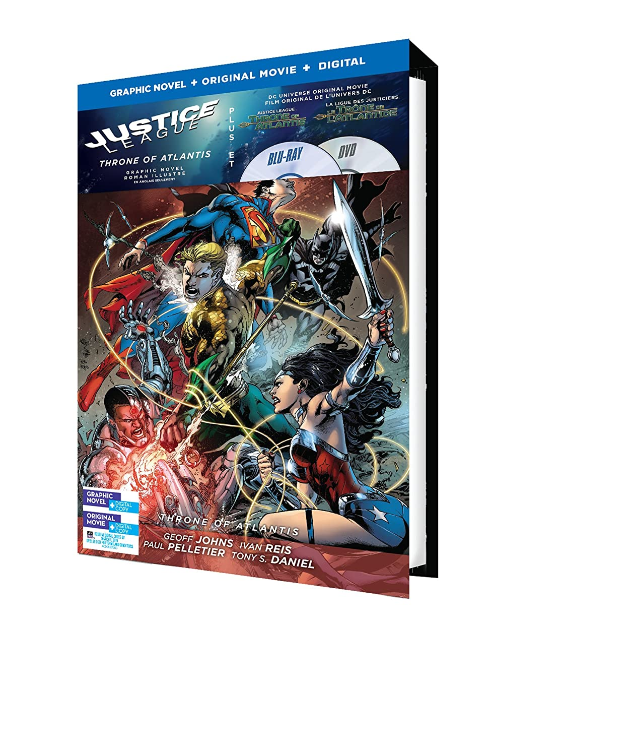 Justice League: Throne of Atlantis (Blu-ray): Amazon.es ...
