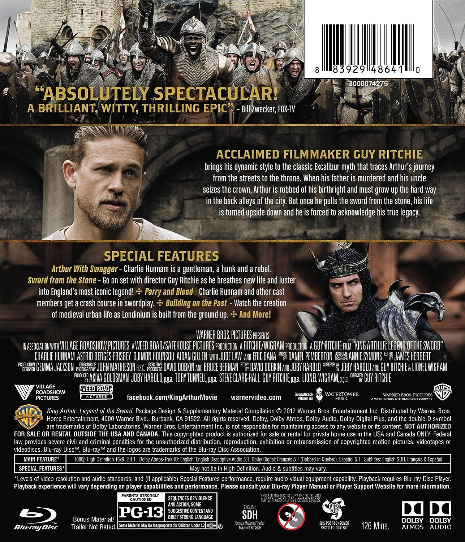 King Arthur Legend Of The Sword 2016 Bd Blu Ray Lanccelot Watch Aegis Attilia Charlie Hunnam Astrid Bergs Frisbey Djimon Hounsou Aidan Gillen Jude Law