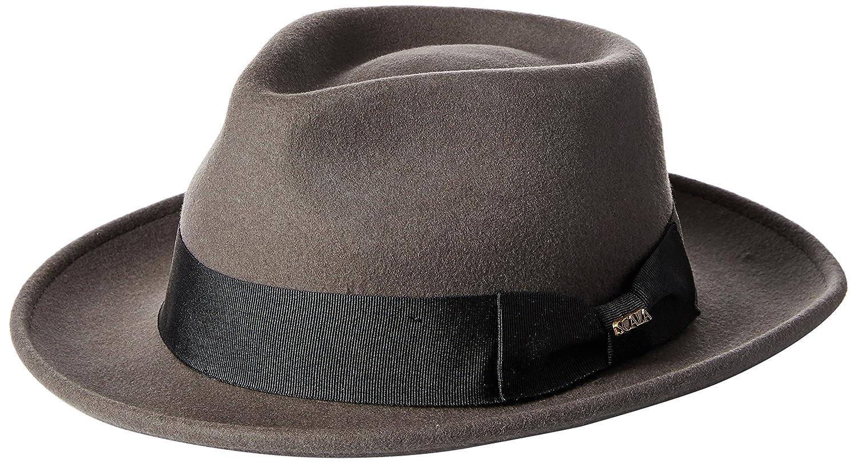 Scala Classico Men s Crushable Wool Felt Fedora  f3f14a25365