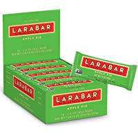 LARABAR, Fruit & Nut Bar, Apple Pie, Gluten Free, Vegan, Whole 30 Compliant, 1.6 oz Bars (16 Count)