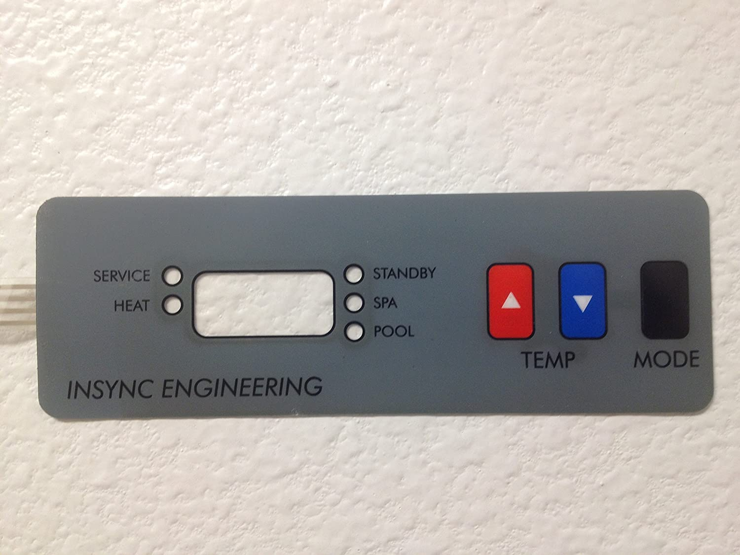 Amazon.com : COMPATIBLE WITH ALL HAYWARD H SERIES POOL HEATER REPLACEMENT  CONTROL PANEL KEYPAD MEMBRANE SWITCH. INSYNC ENGINEERING DESIGNED AND  MANUFACTURED ...
