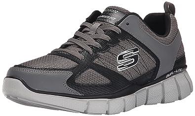 SkechersEqualizer 2.0on Track - Zapatillas Hombre, Color Negro, Talla 43