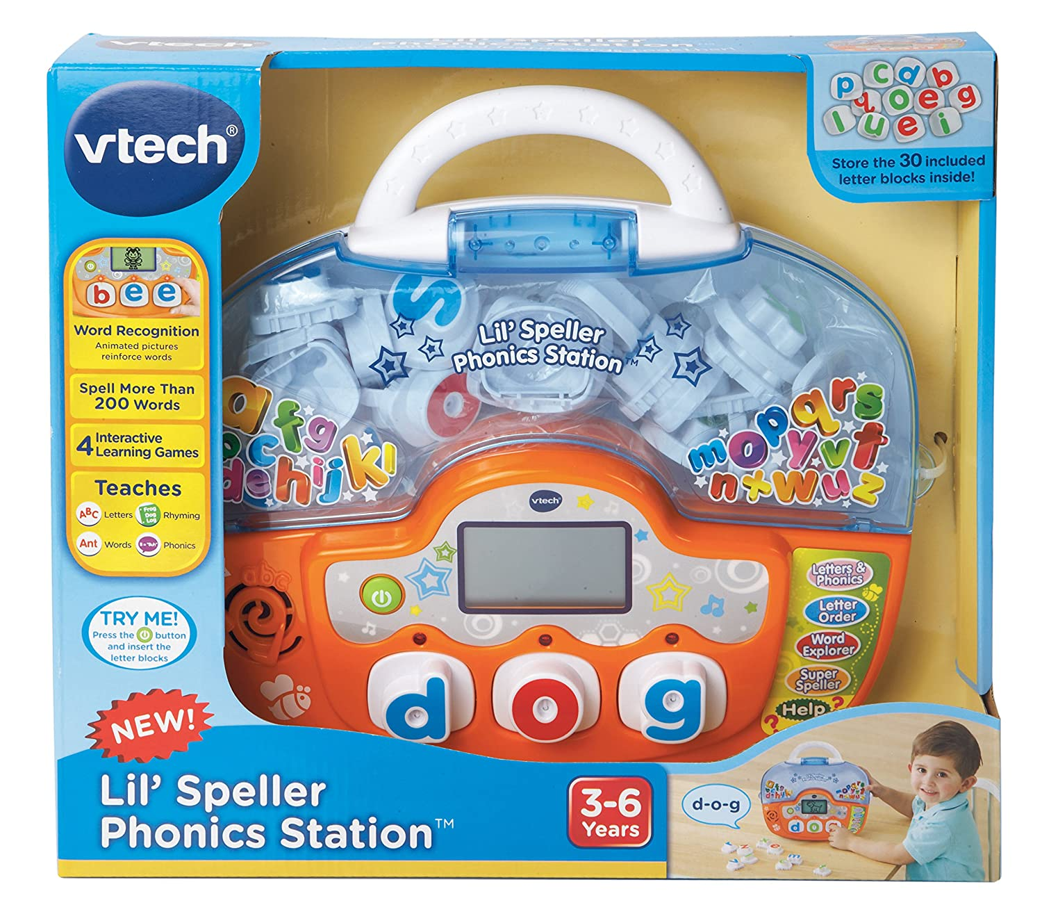 Amazon VTech Lil Speller Phonics Station Toys & Games