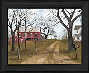 Trendy Decor4U The Old Dirt Road By Billy Jacobs Printed Wall Art, 18 Inch x 14 Inch