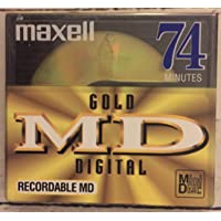 Maxell Md Gold 74 Recordable Mini Disc