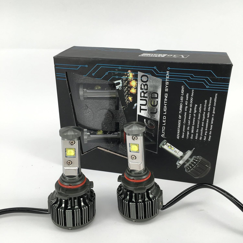 Amazon.com: All Seasons LED 60W 7200LM/Set US CREE LED Auto Headlight Kit, Color White 6000K (H8): Automotive