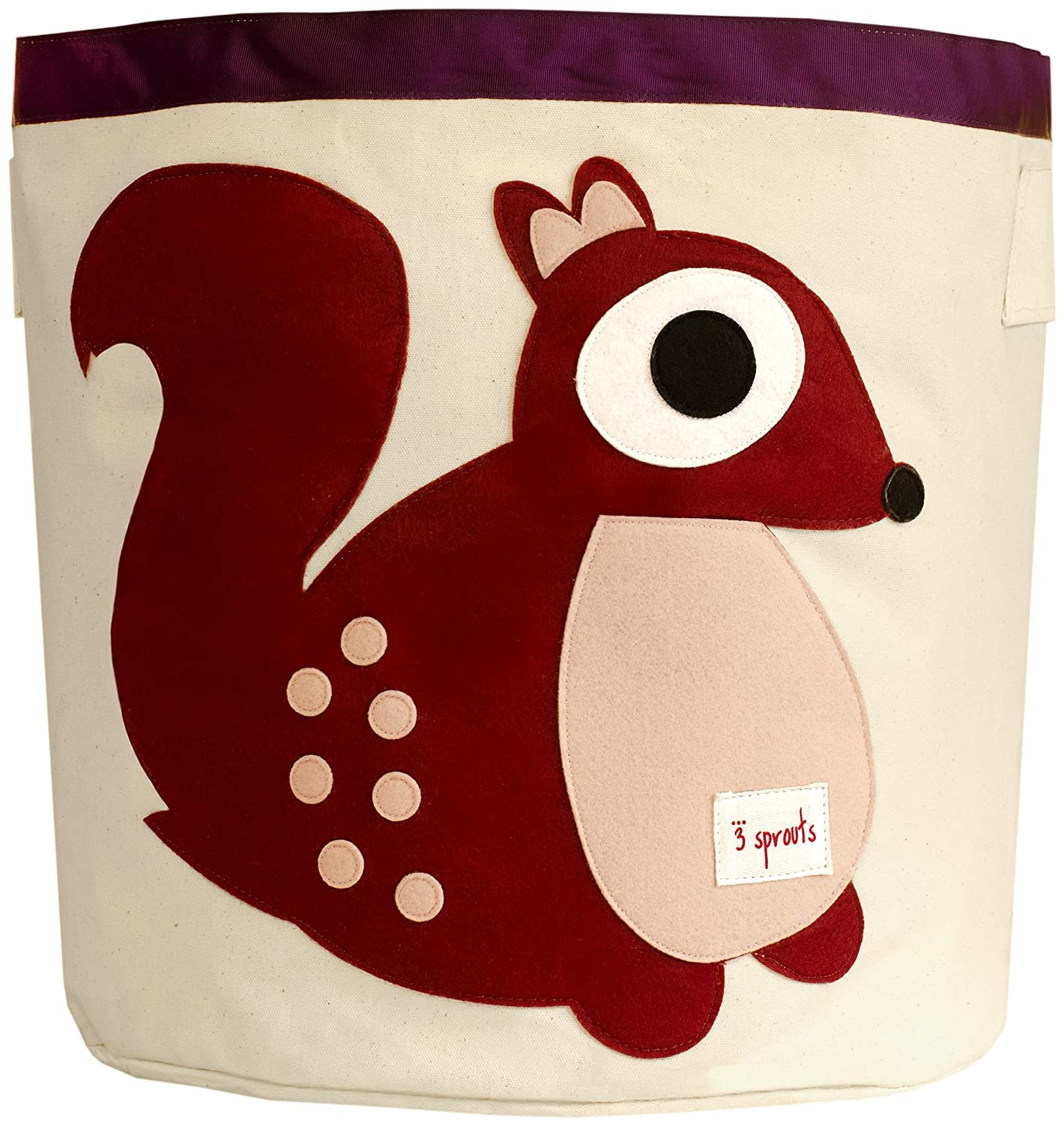 amazoncom   sprouts storage bin squirrel  nursery storage  - amazoncom   sprouts storage bin squirrel  nursery storage baskets baby