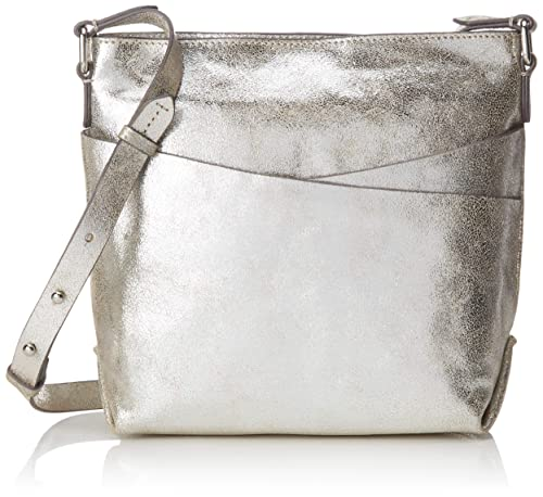 67154ad553f Clarks Topsham Charm, Women's Cross-Body Bag, Silver (Silver Leather ...