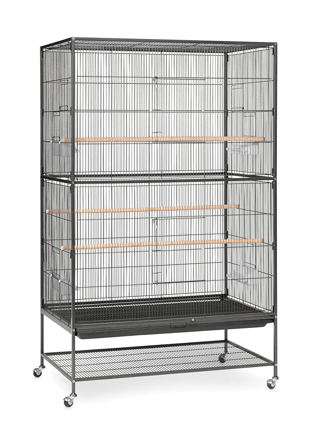 B0002AQ228 Prevue Hendryx Pet Products Wrought Iron Flight Cage 91coxvjfgaL