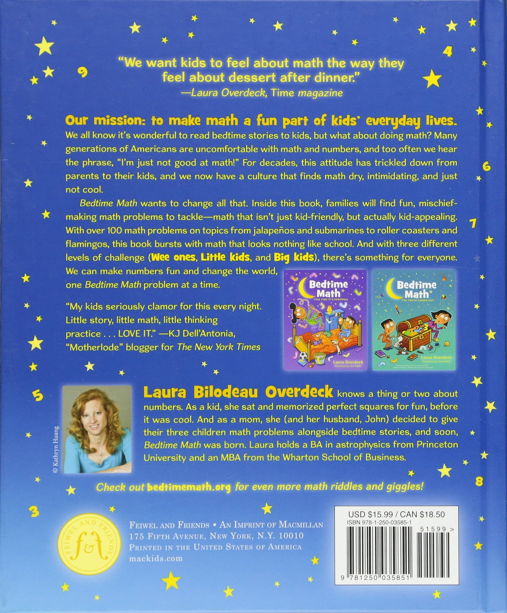 Bedtime Math: A Fun Excuse to Stay Up Late (Bedtime Math Series ...