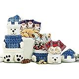Polar Bear Oreo and Candy Gift Tower
