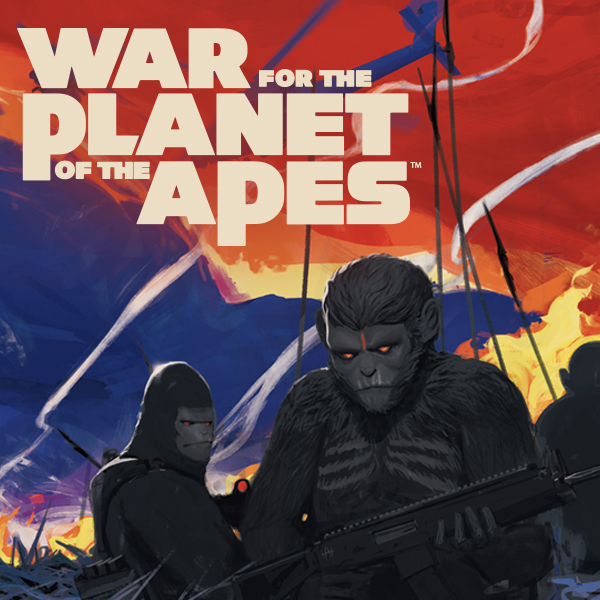 War for the Planet of the Apes (Issues) (2 Book Series)