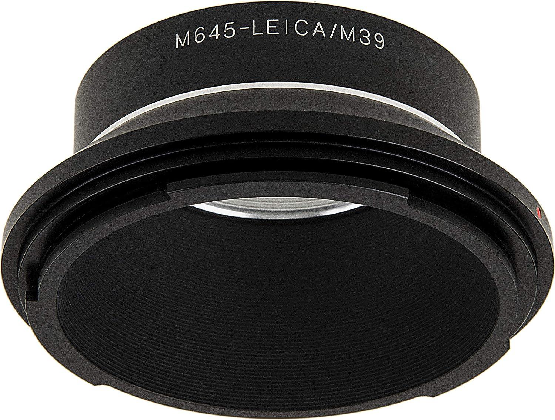 645AF Lens to Mamiya 645 Camera Mount Adapter -for Mamiya ZD 645AFD II Leica Visoflex M39 M645 PRO 645E Fotodiox Pro Lens Mount Adapter 39mm Thread Mount M645 1000s 645AFD III