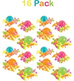 Plastic Jacks And Ball Sets, - Pack Of 16 - Balls And Jacks Are 1 Inch, 10 Jacks And 1 Ball Per Pack, Assorted Neon Colors - Classic Game Set - For Kids, Party Favors, Fun, Toy, Gift, - By Kidsco