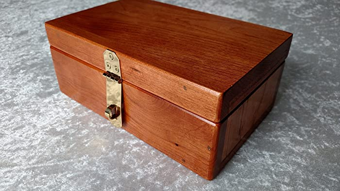 Cherry Keepsake Box Secret Stash Box Trinket Box