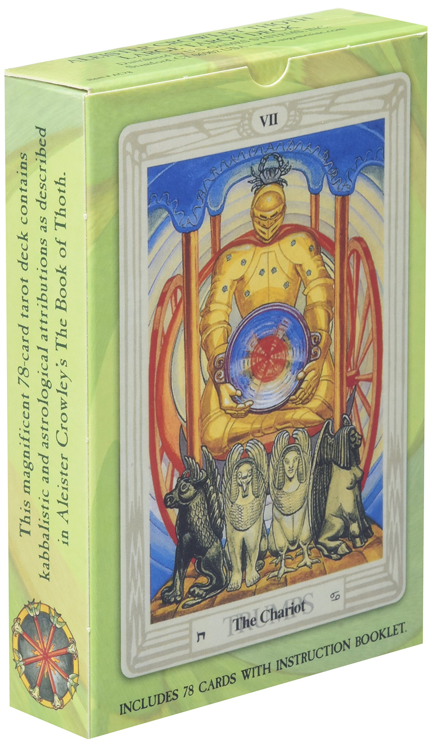 Crowley Thoth Tarot Deck Standard: Amazon.es: Aleister ...