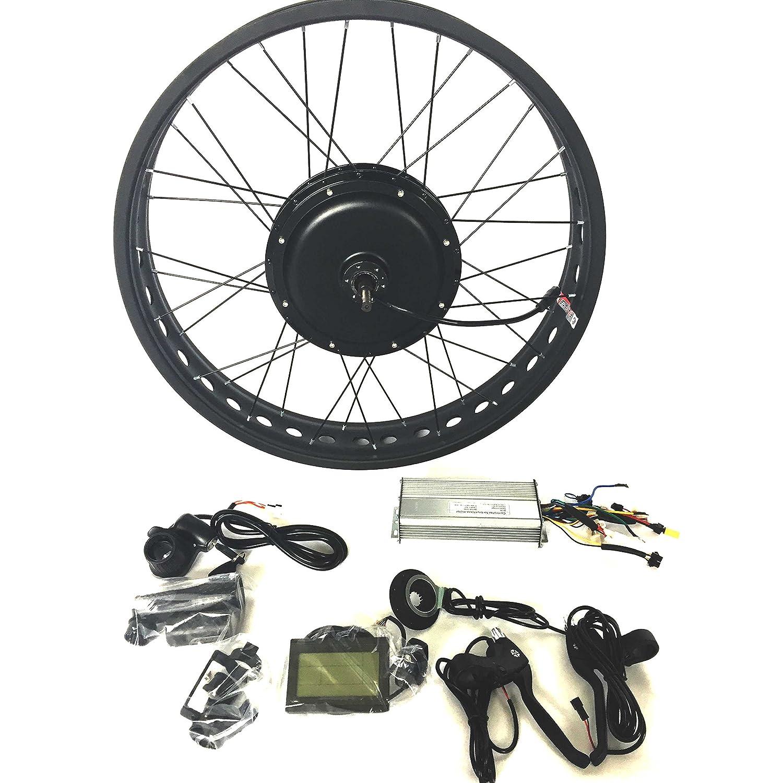 48V1200W 電動自転車変換キットギ Electric Bike Conversion Kit 4.0 Fat Rim + LCD + Tire Theebikemotor B01N5P457D 20