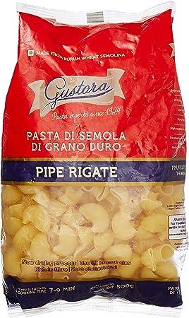 Gustora Pipe Rigate Pasta, 500g