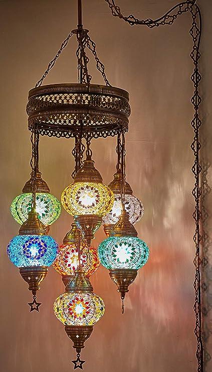 Amazon.com: (12 diseños a elegir) turco mosaico marroquí ...