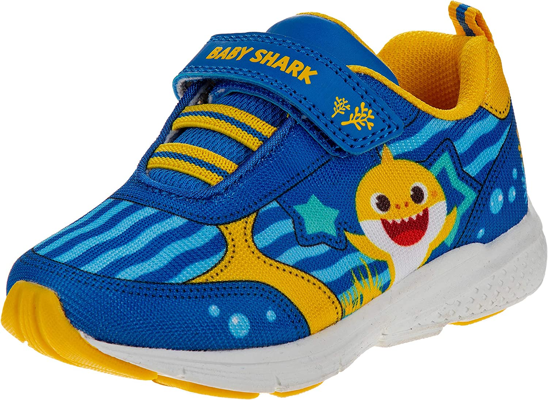 Nickelodeon Toddler Boys' Sneakers - Baby Shark Running Shoes