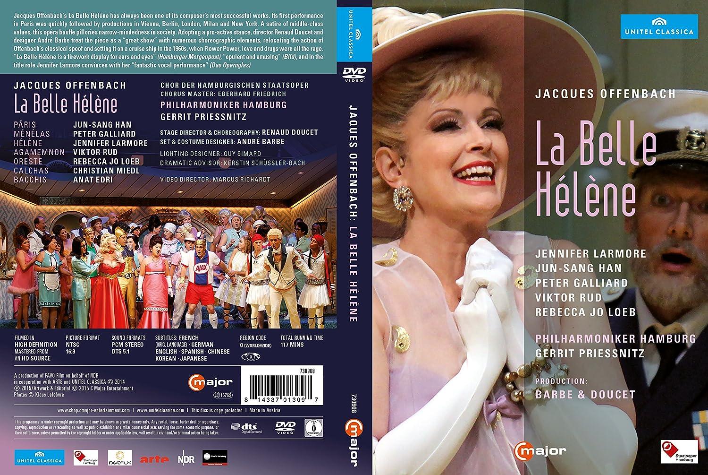 Amazon.com: Offenbach: La Belle Hélène: Renaud Doucet, Philharmoniker Hamburg, Gerrit Priessnitz, Marcus Richardt: Movies & TV