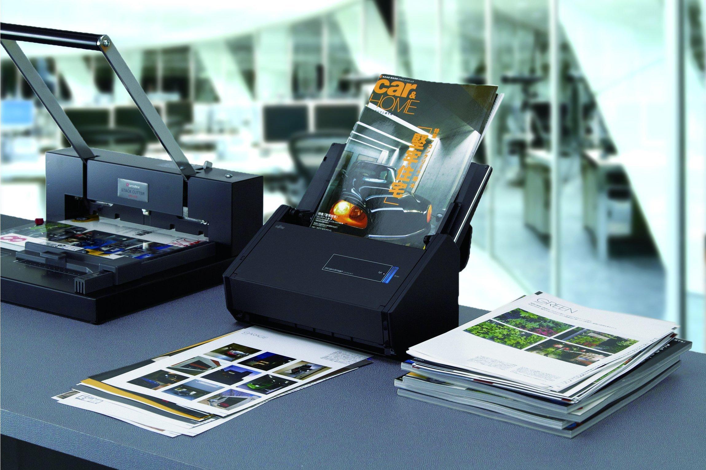 Fujitsu ScanSnap iX500 Color Duplex Desk Scanner for Mac and PC (Renewed) by Fujitsu (Image #5)